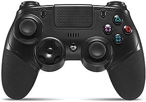 PS4 コントローラー [2020最新版] YOBWIN PS4/PS4 Pro/Slim対応 イヤホンジャック 無線 Bluetooth接続 タッチパッド 振動 連射 ジャイロセンサー イヤホンジャック スピーカー DUALSHOCK 4代用