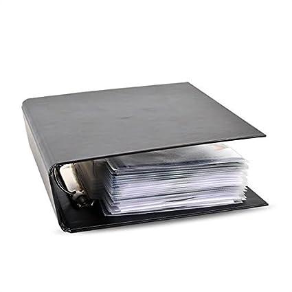 Carpeta para DVD: para almacenar DVD en un archivador.