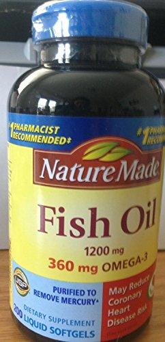 Nature Made Fish Oil Omega-3 1200mg