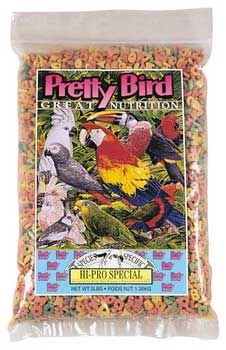 Pretty Bird International BPB78311 Species Specific Hi-Pro Special Cockatoo and Amazon Food for Birds, 8-Pound, My Pet Supplies