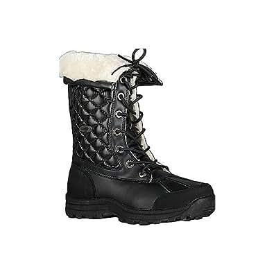 Amazon.com | Women's Lugz Tambora Fashion Snow Boots BLACK