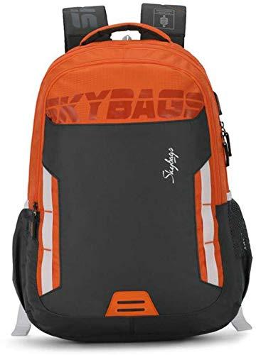 Skybags Figo Extra 02 36 Ltrs Blue Casual Backpack (FIGO Extra 02) (Blue) (Grey)