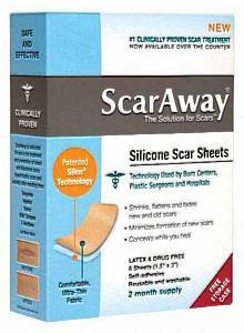 Scaraway Professional Grade Silicone Scar Treatment Sheet...