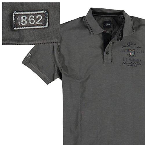 engbers Herren Poloshirt, 23648, Grau