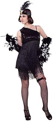 Fyasa 706265-T04 Charleston - Disfraz de niña para niños de 12 ...