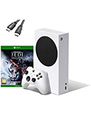 $459 » Microsoft - Xbox Series S 512 GB All-Digital Console (Disc-Free Gaming) Bundle Star Wars: Jedi Fallen Order for Xbox One W/ 4K HDMI