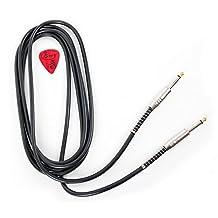 Black Stlye 1: Bray's High Quality Straight Jack Black Phone To Phone Cable Electric Guitar Lead For Fender, Gibson, Yamaha, Ibanez, Rockburn, Lindo & Jaxville Guitars - Length: 3m (10ft) - Bonus Bray Pick