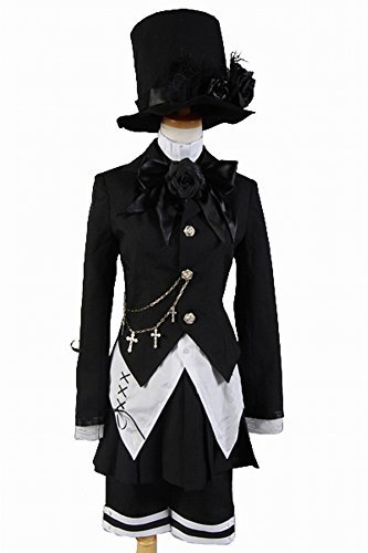 Halloween Outfit Hat Jacket Uniform Dress Cosplay Costume Set for Party Festival