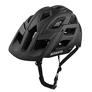 MONATA Mountain Bike Helmet for Adult MTB Cycling Bicycle Helmet with CPSC Certified