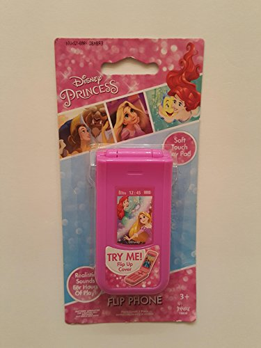 Disney Princess Elegant Flip Phone