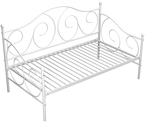 home, kitchen, furniture, bedroom furniture, beds, frames, bases,  beds 9 picture DHP Victoria Daybed, Twin Size Metal Frame, Multi promotion