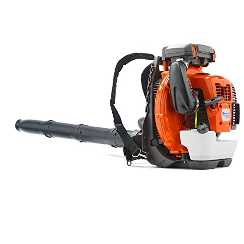 New Husqvarna 580BTS 75.6cc Gas Powered 2 Cycle Backpack Leaf Blower 208 MPH by Husqvarna