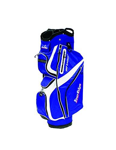 Tour Edge Golf Hot Launch 2 Cart Bags (Men's, Hot Launch 2 Cart Bag Royal/White),
