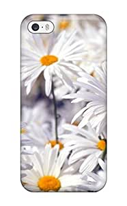 New Arrival Case Specially Design For Iphone 5/5s (white Flowers )