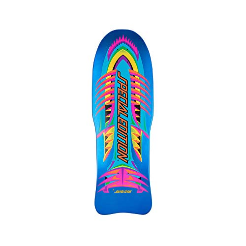 Santa Cruz Skateboard Deck Special Edition Fish Blue Candy Metallic