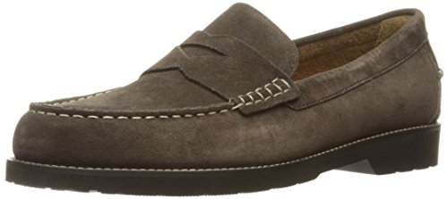 Rockport Men's Classic Move Penny Dark Bitter Chocolate Suede 7 M (D)-7 M - Classic Suede Loafers