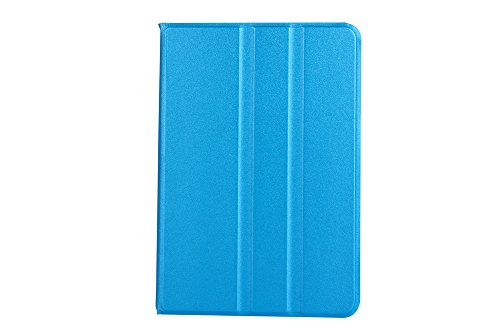 iPad 5 Case- DUAL Dark Blue Super Slim Smart Feature (Built-in magnet for sleep / wake feature) For Apple iPad 5Tablet