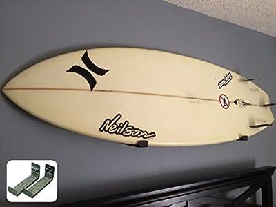 Naked Surf | Minimalist Surfboard Wall Rack | Display Rack | StoreYourBoard