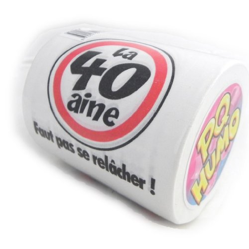 Toilet roll '40 Ans' .
