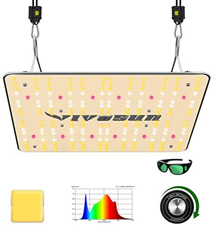 VIVOSUN 2020 Latest VS1000 LED Grow Light with Samsung LM301H Diodes Sosen Driver Dimmable Lights Sunlike Full Spectrum for Indoor Plants Seeding Veg and Bloom Plant Growing Lamps