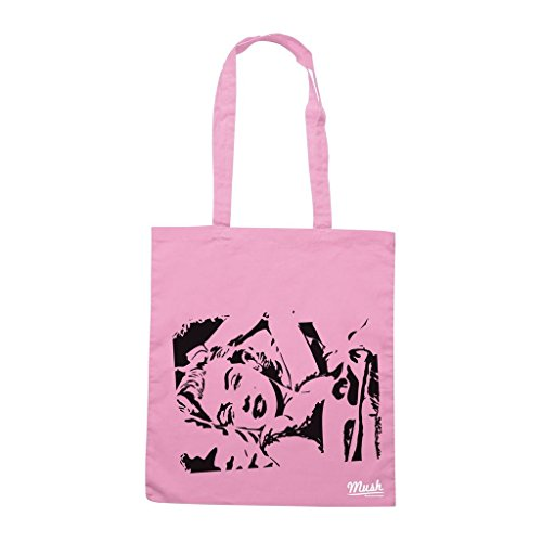 Borsa Marilyn Stencil - Rosa - Famosi by Mush Dress Your Style
