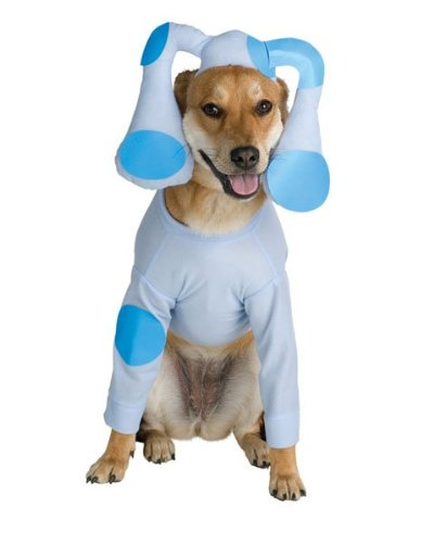 [Blues Clues Pet Costume, Size Large 18-20] (Homemade Grim Reaper Halloween Costumes)