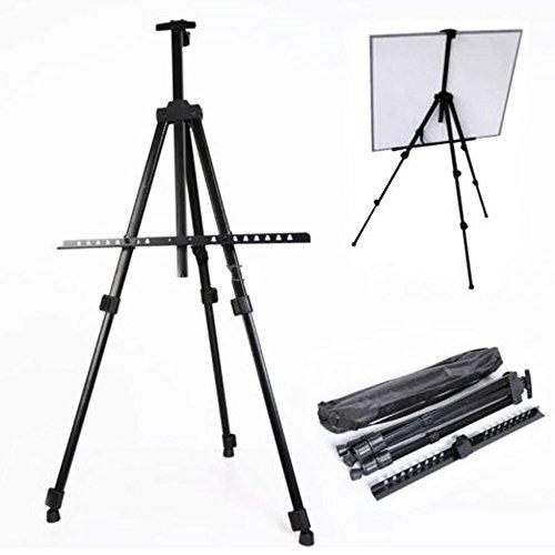 AVGDeals Folding Artist Telescopic Field Studio Painting Easel Tripod Display Stand W/Bag