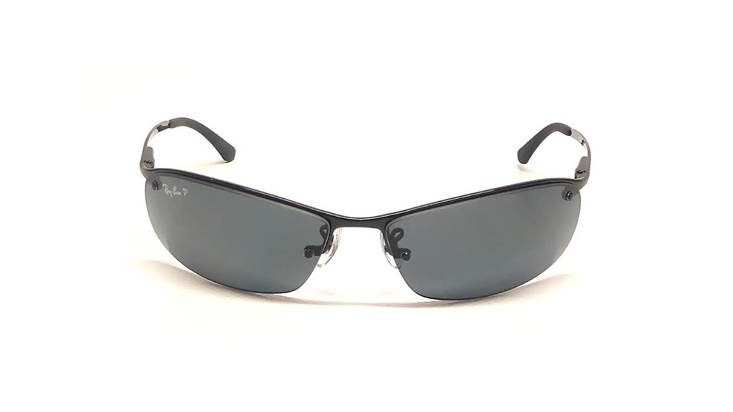 Amazon.com: Ray Ban RB3183 002/81 63mm Black/Polarized Gray Sunglasses Bundle-2 Items: Shoes