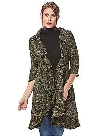 Ichi Wrap Dress For Women - Multi Color - 36 EU
