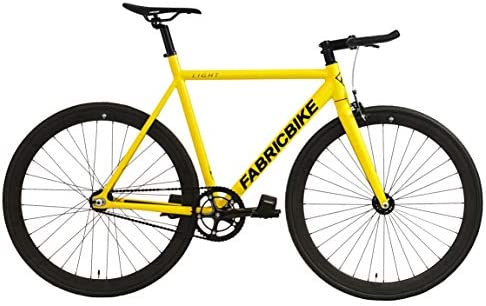 FabricBike- Bicicleta Fixed, Fixie, Single Speed, Cuadro y Horquilla Aluminio, Ruedas 28