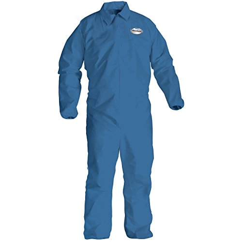 KCC58505 A20 Coveralls, MICROFORCE Barrier SMS Fabric, Denim, 2XL