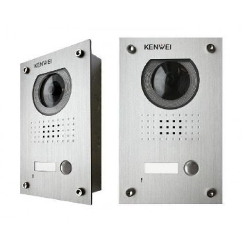 Kenwei Video Access Control - KW-137M B&W Vandalproof Camera for Video Intercoms