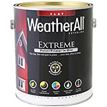 true value mfg company waef14-gl WAEF14, True Value, Premium Weatherall Extreme Paint/Primer In One, Gallon, Black