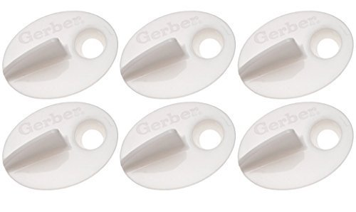 NUK 6 Pack Replacement valves Spill Proof Cup, Colors May Va