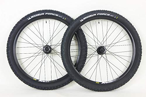 Mavic Rim 26er Mountain Bike Wheels with Disc Brake Shimano Hubs Plus Free Michelin Force 26x2.5 Tires and Tubes!
