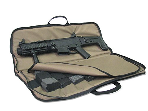 American Mountain Supply SBR and AR Pistol Case (Black, 24 Inches)