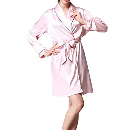 pink Coordinato Donna skin Comeon linea lunghe a Set ad Maniche qA1zpC