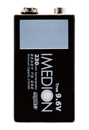 Powerex MHR9VI Imedion 9.6V 230mAh 1-Pack Rechargeable Battery by Powerex