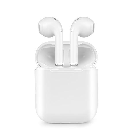 Auriculares Bluetooth, Auricular Estéreo Auricular Inalámbrico Bluetooth Auriculares In-Ear con Estuche y Micrófono para Apple iPhone 7 7 Plus 6s 6s, iPad, ...