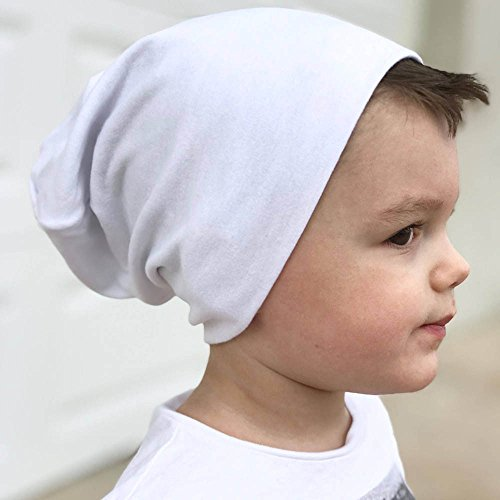 11746976ca7 Gbell Toddler Soft Cotton Hip Hop Hat Cap Kids Baby Boy Girl Infant Cotton  Beanie Caps