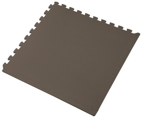 We Sell Mats Interlocking Anti-Fatigue EVA Foam Floor Mat, Charcoal Gray]()