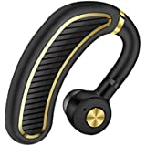 Bluetooth Headset,Wireless Bluetooth 4.1 Business Headphone Earphone 300mAh Super Long Standby Earpiece with Mic,Sweatproof,Noise Reduction,Mute Switch for Cell Phone, Skype, Truck Driver,Office,Sport