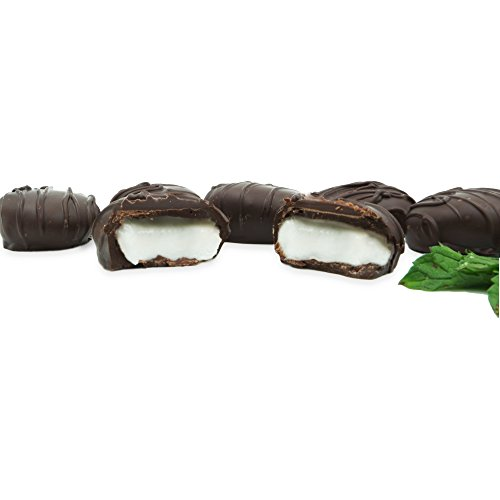 Philadelphia Candies Dark Chocolate Covered Peppermint Patties, 12.5 Ounce Gift (Chocolate Covered Peppermint Patties)