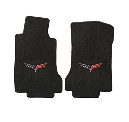 (Fits Corvette Floor Mats Velourtex (Ebony) - C6)