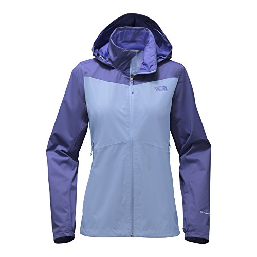 The North Face Women's Resolve Plus Jacket Collar Blue/Stellar Blue X-Large (North Face Best Price)