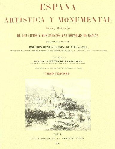 Descargar Libro España Artistica Y Monumental Vol. Iii Genaro Perez De Villa-amil