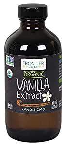 Frontier Organic Vanilla Extract, 8 Ounce