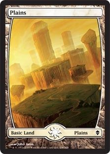 Magic: the Gathering - Plains - Full Art (230) - Zendikar ()