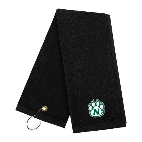 Northwest Missouri State Black Golf Towel 'Official Logo' by CollegeFanGear