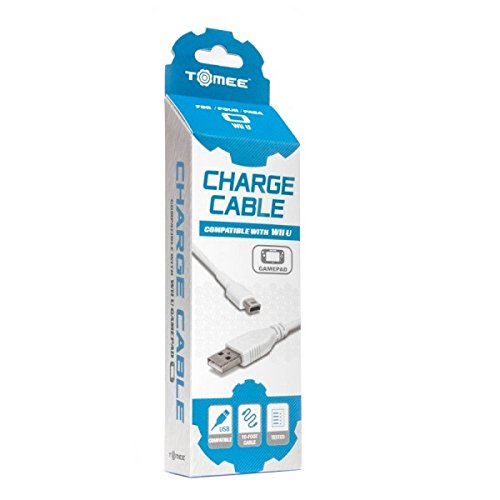 Tomee Charge Cable for Wii U GamePad